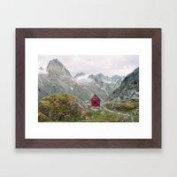Mint Hut Framed Art Print