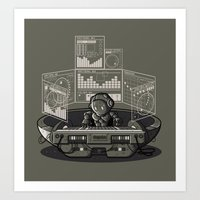 THE COMPOSER Art Print