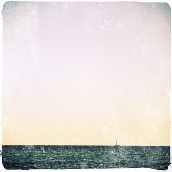 summer sail (pastel) Art Print