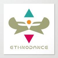 Ethnodance Canvas Print