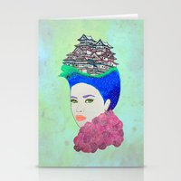 japan Stationery Cards featuring Japan by Luna Portnoi