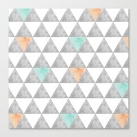 Canvas Print featuring Tri-angle by Tayler Willcox