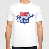 Pool de Hockey Grenville Beach Mens Fitted Tee White SMALL