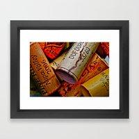 Uncorked Framed Art Print