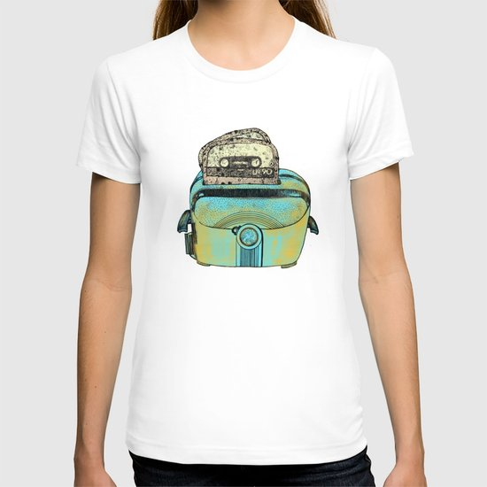 toasted tapes T-shirt