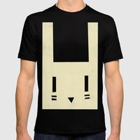 bunnyface Mens Fitted Tee Black SMALL