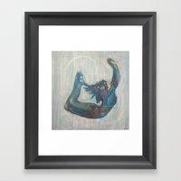 Crescent Dream Framed Art Print