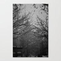 Winter Snow Vail Colorado Canvas Print
