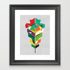 Before The Last Leaf Fal… Framed Art Print
