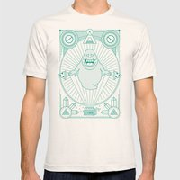 Slimer Jam Mens Fitted Tee Natural SMALL