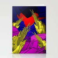 AUTOMATIC WORM 6 Stationery Cards