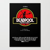 Deadpool : Merc with a Mouth Canvas Print
