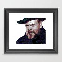 Orson Paint Framed Art Print