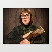 The Log Lady Canvas Print