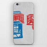 Crates  iPhone & iPod Skin
