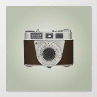 Vintage Camera II Canvas Print