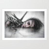 Unclean Art Print