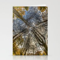 Middle is leafless  Stationery Cards
