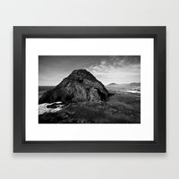 Lover's Rock Framed Art Print