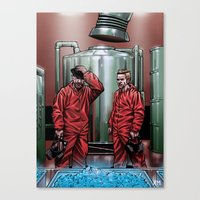 Blue Meth Canvas Print