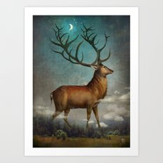 King Of The Night Art Print