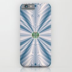 Blue Leaf Slim Case iPhone 6s
