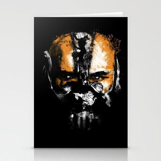 Bane Rhymes with Pain Stationery Card