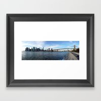 Manhattan Framed Art Print