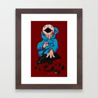 Mad!Cryaotic Framed Art Print