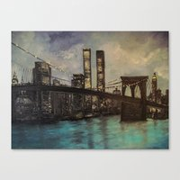 The Twin Towers, New York, NY  Canvas Print