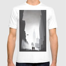 Love in New York Mens Fitted Tee White SMALL