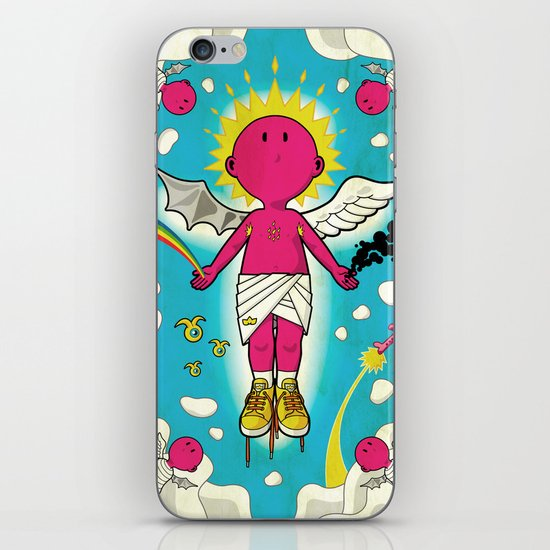 Love & Hate iPhone & iPod Skin