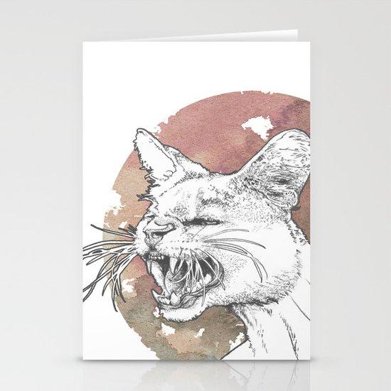 Bastet Unrequited Stationery Card