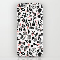 Black And White Pattern iPhone & iPod Skin