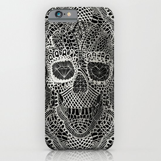 Lace Skull iPhone & iPod Case