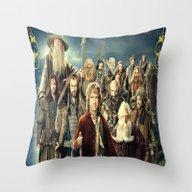 The Hobbit Duvet Cover,l… Throw Pillow