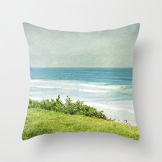 To the West Throw Pillow