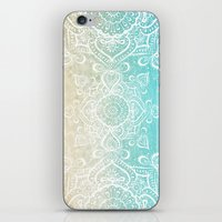 Beach Mandala iPhone & iPod Skin