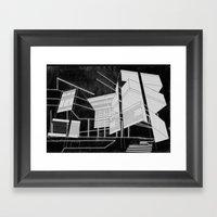 Masking Winter  Framed Art Print