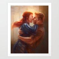 Alistair And Warden - We… Art Print