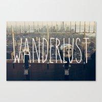 Wanderlust - NYC Canvas Print