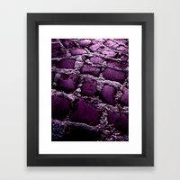 Purple Way XI Framed Art Print