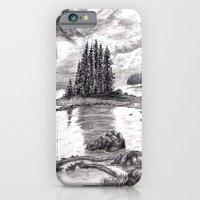 Black and White 3 iPhone 6 Slim Case