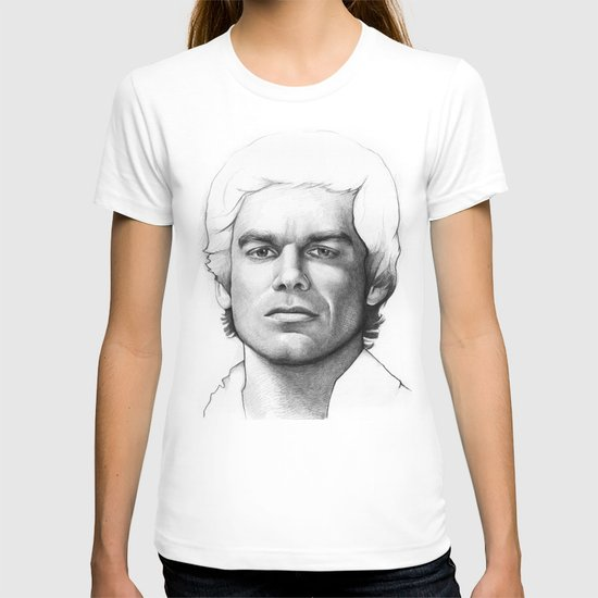 Dexter Morgan Portrait T-shirt