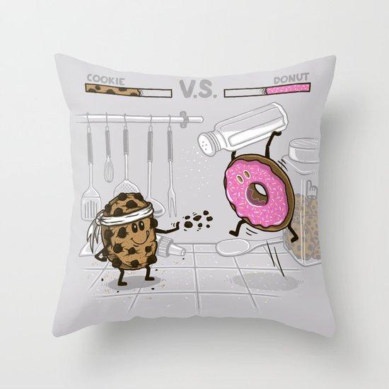 Duelicious Throw Pillow