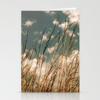 Golden Wheat Stationery Cards