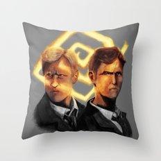 Detectives Throw Pillow