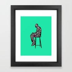 The Decision Framed Art Print