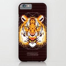 Geometric Tiger Slim Case iPhone 6s