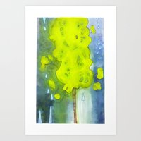 Whee, A Tree! Art Print